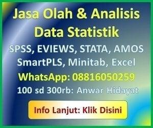 jasa analisis statistik 2019