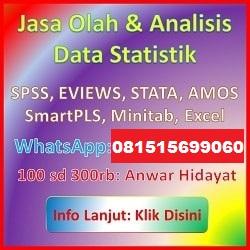Jasa Statistik Anwar H BSI