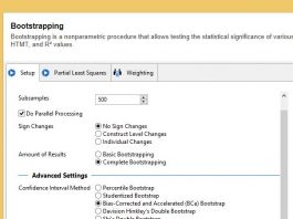 Bootstrapping Complete PLS SEM SMARTPLS