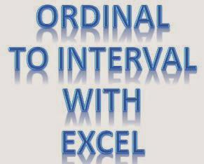 Transformasi Data Ordinal Dengan Excel